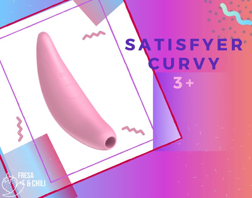 El nuevo y completo succionador de clítoris con app Curvy 3+
