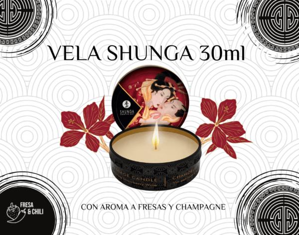 Para dar un masaje erótico de 10 puedes usar una vela shunga